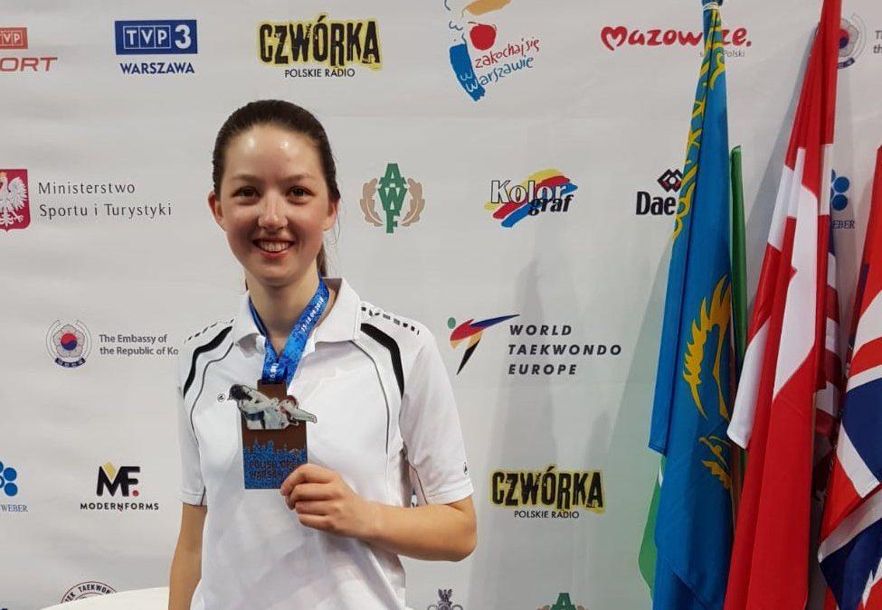 TKD: In Warschau Bronze für Julia Ronken