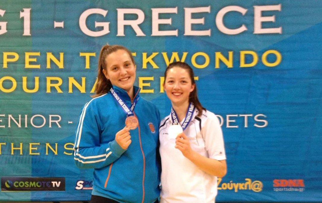 TKD: Zweimal Bronze bei den Greece Open