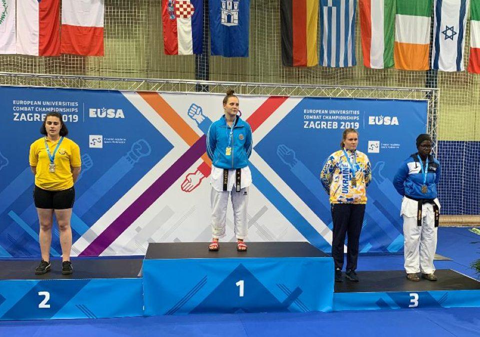 Titelgewinn bei der Studierenden-EM in Zagreb