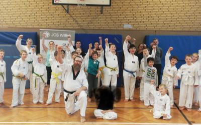 Taekwondo Breitensportlehrgang beim Judo Club Schiefbahn